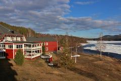 Hôtel Storforsen Photo libre de droits