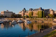 Hôtel Victoria Canada d'impératrice de Fairmont Images stock