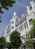 Hôtel Volga à Saratov Images libres de droits