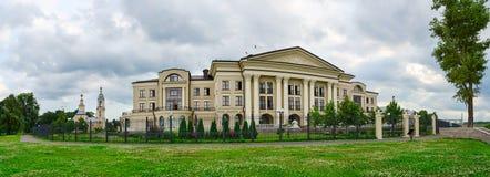Hôtel Volzhskaya la Riviera, Uglich, Russie Photos libres de droits