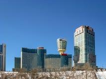 Hôtels dans Niagara, Ontario, Canada images stock