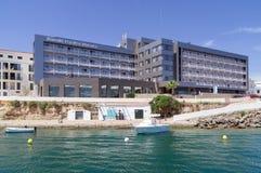 Hôtels de luxe et stations de vacances dans Menorca, Espagne Photos stock