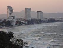 Hôtels près de la plage 10 images libres de droits