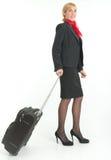 Hôtesse de l'air Image libre de droits