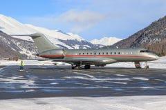 9H-VJJ - Бомбардье глобальные 6000 - VistaJet Стоковое Фото