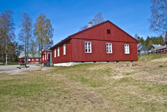 Høytorp Fort (old building) Royalty Free Stock Photography