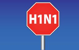 H1N1 Royalty Free Stock Photography
