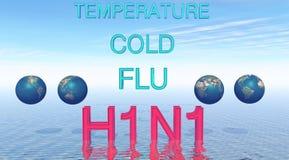H1N1 libre illustration