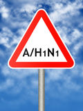 A/H1N1 Royalty Free Stock Images