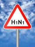 h1n1 免版税库存照片