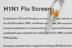 H1N1 Stock Photo