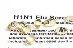 H1N1 Stock Image