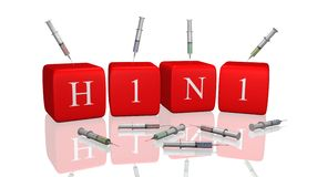 H1N1 Royalty Free Stock Image