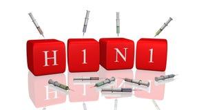 H1N1 Imagem de Stock Royalty Free