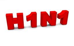 H1N1 Imágenes de archivo libres de regalías