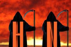 H1N1 concept. Royalty Free Stock Photos