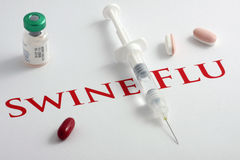 H1N1 Influenza Virus Stock Images