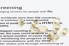 H1N1 Virus Royalty Free Stock Image