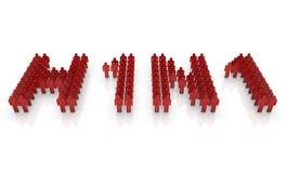 H1N1 Virus Epidemic Stock Photo