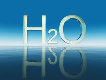 H20 Immagine Stock Libera da Diritti