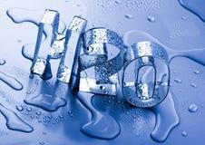 H2O Image libre de droits