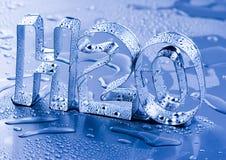 H2O Stock Photo