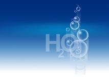 h2o иллюстрация вектора