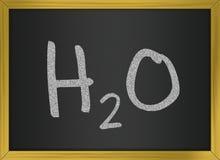 h2o-vatten Stock Illustrationer