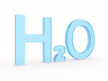 H2O Water symbol Royalty Free Stock Photography
