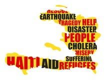 Haïti vector illustratie