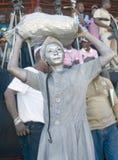 Haïtiaanse Protesetr-Vrouw Royalty-vrije Stock Foto's