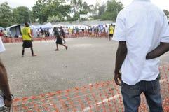 Haïtiaanse Voetbal. stock afbeelding