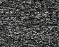 Hałas na czarnym ekranie obraz stock