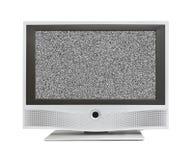 Hałas na TV ekranie zdjęcie stock
