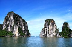 Halong海湾 图库摄影