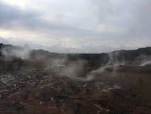 Ha`akulamanu Sulfur Banks In Hawaii Volcanoes National Park On Big Island, Hawaii. Stock Image