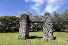 Ha'amonga 'a Maui arch Stock Photo