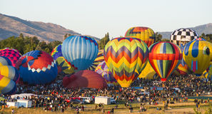HA Balloons. Balloon races in Nevada Royalty Free Stock Images