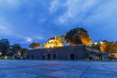 Ha de NOI, VIETNAM - 25 juillet 2015 - la citadelle impériale de Thang longtemps Image stock