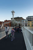 Ha de ` Penny Bridge Dublin Photos libres de droits
