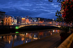 Ha de ` Penny Bridge, Dublin, Irlande Photographie stock libre de droits