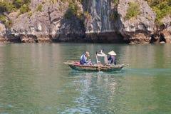 Ha di lunghezza da stile di rematura della gamba in vietnam del nord Fotografia Stock Libera da Diritti