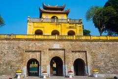 HA DI NOI, VIETNAM Cittadella lunga di Thang come città del patrimonio mondiale famosa a Hanoi Immagine Stock Libera da Diritti