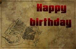 Ha en bra födelsedag Arkivbild