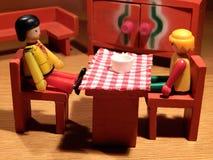 Ha en pratstund! Fotografering för Bildbyråer
