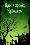 Ha en spöklika Halloween Arkivfoton