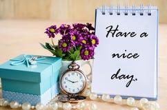 Ha en trevlig dag Royaltyfria Foton
