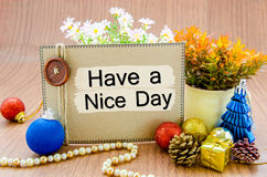 Ha en trevlig dag Royaltyfri Foto