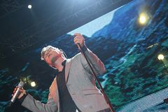A-Ha - The Ending on a High Note Tour Stock Image