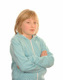 Thoughtful young girl Stock Photo
